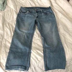 Women's Old Navy mid rise flare jeans